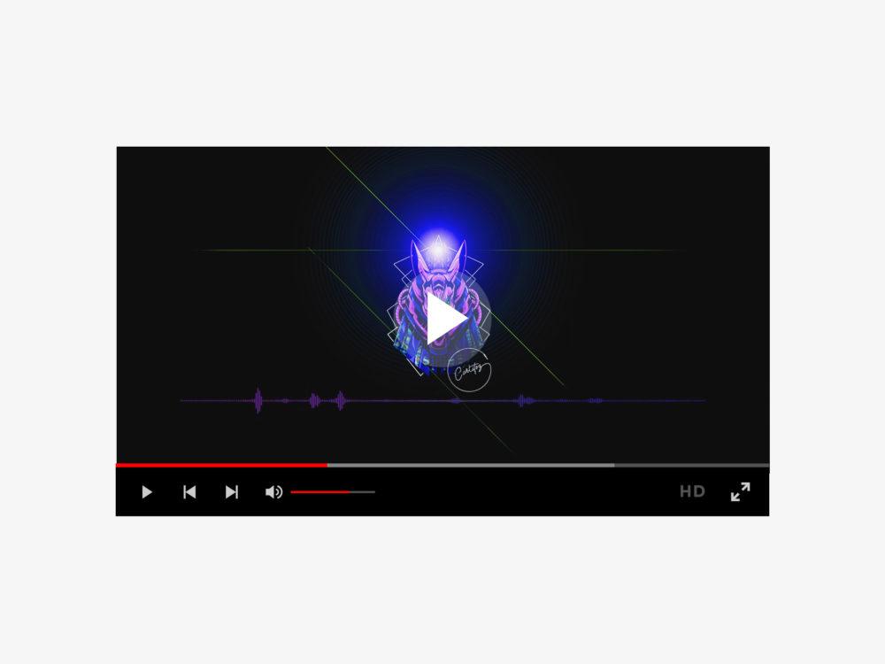 Vidéo YouTube pour le son Anubis de Carlitoz
