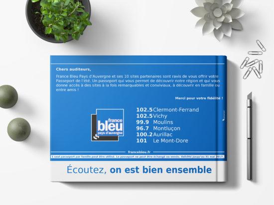 Présentation de la quatrième de couverture du livret de France Bleue Pays d'Auvergne